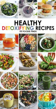 The Ultimate Round-Up of Detox Recipes