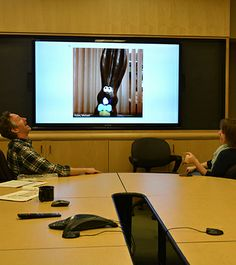 Silly rabbit, conference calls aren't for jokes. #allears