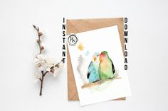 Printable card or poster!!!  Have a look!  www.esty.com/shop/printableswarehouse  #silvia.creativestudio⠀#followme #watercolor #watercolor_art⠀#artdrawing #watercolorartist #watercolorillustration #watercolorflorals #digitaldesign #cutecards #creativeart_world #justdraw #illustrationinspiration #greetingcards #etsyoclock #etsybaby #etsygermany #etsyusa #etsysale #etsyitaliateam #thedailysketch #instaartwork #watercolor_daily #waterblog #homemadecard #cardmakers #cardmaker…