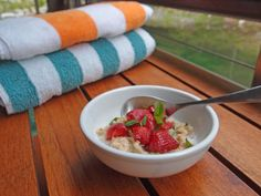 Oats of the Week: Strawberries and Mint