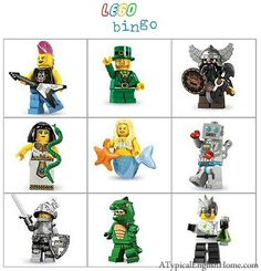 A Typical English Home: Freebie Thursday: Lego Party Printables
