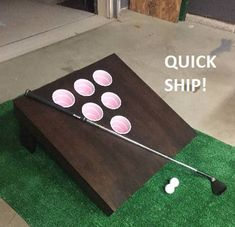 Single Board Indoor/outdoor Includes balls Gift drinking game Yard - Tai - Golf - A-Z Finance Plan (For Life) Outdoor Drinking Games, Outdoor Games, Diy Yard Games, Diy Games, Backyard Games, Backyard Parties, Party Games, Indoor Mini Golf, Board Games