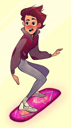 Marty McFly by Megan Fisher