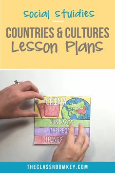 Teach your elementary students about countries and cultures around the world with this unit plan. Included are slide show lessons and mini projects for notes and study. Featured countries are Mexico, Social Studies For Kids, Preschool Social Studies, Social Studies Worksheets, 3rd Grade Social Studies, Social Studies Lesson Plans, Social Studies Notebook, Social Studies Classroom, Elementary Social Studies, 3rd Grade Art