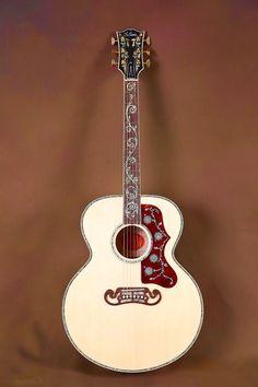 2015 Gibson SJ-200 Custom Quilt Vine