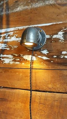 Pipe lamp sconce Industrial wall light Machine age lamp Steam Punk lantern This sconce is made from 2 diameter pipe with a mounting flange and