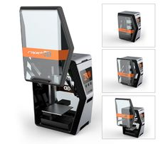 3ders.org - Dynamic and fresh looking Rapide One 3D printer soon on indiegogo   3D Printer News & 3D Printing News