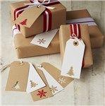 Envoltorios originales para regalos navideños: tarjetas navideñas