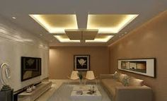 Resultado De Imagen Para False Ceiling Living Room Modern, Living Room  Designs, Ceiling Design