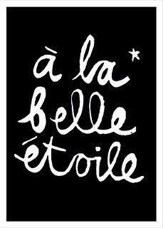 Under a beautiful star, a la belle etoile quote/saying Words Quotes, Wise Words, Me Quotes, Blabla, Inspirierender Text, You Are My Moon, Ex Machina, French Quotes, French Sayings