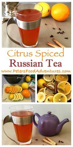 Made with Real Tea Bags, This Delicious Citrus Spiced Russian Tea Recipe is Easy to Make and a Holiday Treat