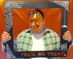 Photo Booth Frame/SPIDER WEB Halloween Photo by PalletCreatives