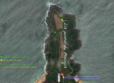 Cette carte de la pointe du Meinga retrace le parcours à pieds pour faire des photos le long du GR34 sur ce sentier aux couleurs de Bretagne couleursdebretagne.fr, puis une partie en cerf-volant (partie en vert au bout de la pointe) filmé par le mouchard qui surveille le cerf-voliste de breizh-kam.fr Saint Coulomb, Le Point, Photos, Kite, Pathways, Brittany, Green, Cake Smash Pictures