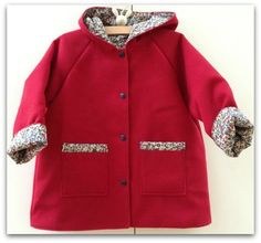 Manteau rouge liberty