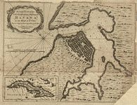 "Relief shown pictorially. Depths shown by soundings. From Universal magazine of knowledge and pleasure. May 1762, v. 30. LC Maps of North America, 1750-1789, 1814 Available also through the Library of Congress Web site as a raster image. Includes ancillary map of ""Island of Cuba."" LC copy imperfect: Portions in upper margin, right margin, and lower right corner missing."