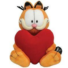 Garfield Garfield holding heart @ niftywarehouse.com #NiftyWarehouse #Garfield #GarfieldCat #GarfieldTheCat #Comics #JimDavis