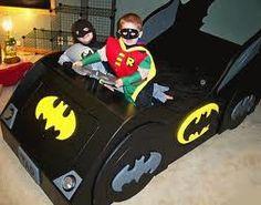 20 Car Shaped Beds for Cool Boys Room Designs Kidsomania Cool Boys Room, Boy Room, Nursery Room, Cama Batman, Playhouse Bed, Indoor Playhouse, Race Car Bed, Batman Bedroom, Batman Car