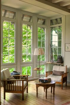 Maison de famille - Traditional - Sunroom - other metro - by Julien CLAPOT Beautiful Space, Beautiful Homes, Interior Decorating, Interior Design, Interior Exterior, House Goals, Belle Photo, My Dream Home, Future House
