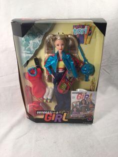 Tori Burns Generation Girl barbie doll Skateboarder roller skates New   eBay