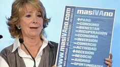 Esperanza Aguirre responsabiliza a los profesores de la implantación de la ´tasa tupper´