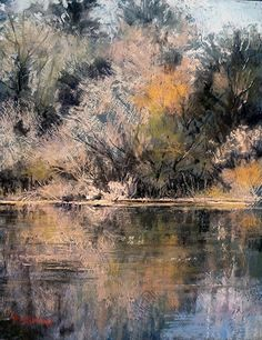 Finding Leonora by Margi Lucena Pastel ~ 18 x 14