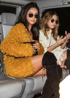 """celebritiesofcolor: """" Shay Mitchell and Ashley Benson out in Milan """""""