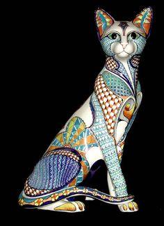 Los gatos son absolutos individuos, con sus propias ideas acerca de todo, incluyendo a las personas que les pertenecen - John Dingman