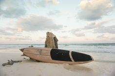 Wood SUP made by Jarvis Boards. This is the Pecos designed as an all around travel SUP.