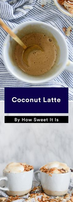 7. Coconut Latte #warm #drinks #recipes http://greatist.com/eat/warm-drink-recipes-better-than-a-pumpkin-spice-latte
