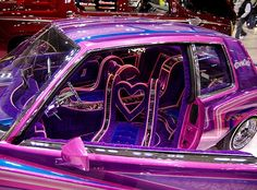 Pictures and video from Japan Lowrider Show 2009 in Tokyo Japan. Pretty Cars, Cute Cars, Lowrider Show, Lowrider Trucks, Dream Cars, The Wicked The Divine, Girly Car, Street Racing Cars, Car Mods