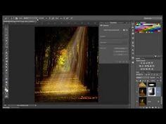 (4) Crear efecto de rayos de luz con Photoshop CS6 - YouTube