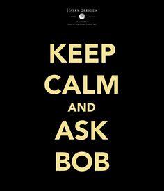 Harry Dresden. Ask Bob.