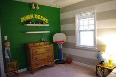 a million tiny little things: John Deere Room Tour