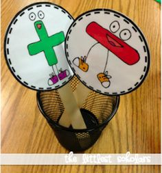 Addition and Subtraction Sticks [Freebie!] by Jessica - Littlest Scholars Math Classroom, Kindergarten Math, Teaching Math, Teaching Ideas, Fun Math, Math Games, Math Activities, Word Games, Math Addition