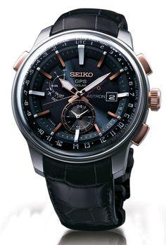 Seiko Astron Solar GPS Watch New Design Added For 2014 Watch Releases #watchesformen