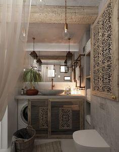 Urban apartment by Izumoff Design Studio....amazing idea for the laundry!!!!!!