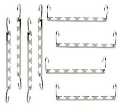 Set of 8 Space Saving Metal Hanger Cascaders review at Kaboodle