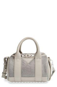 93297c836f5e Alexander Wang  Mini Rockie  Calf Hair Satchel available at  Nordstrom  Studded Handbags