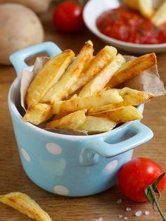 Frites light au four - Recette de cuisine Marmiton : une recette