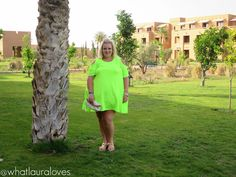 1b2cd3452fd WhatLauraWore  Plus Size Lime Dress - What Laura Loves