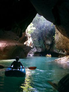 Belize- we went cave tubing in something that looked just like this!! one of my favorite things I've ever done