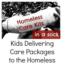You don't have to be a child to do this...Act of Kindness:  Delivering Care Packages to the Homeless