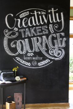 Creativity Takes Courage on Behance