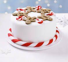 Image result for robin christmas cake