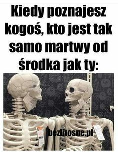 I tak właśnie poznałam mojego naj-przyjaciela koniec historii Im Depressed, Funny Mems, Everything And Nothing, Nanami, Creepypasta, Superwholock, Best Memes, Vintage Posters, Haha