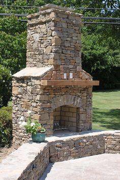 Outdoor Fireplaces | Outdoor Fireplace Vestavia Hills, AL | Birmingham  Landscaping Services