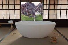 japanese zen bathroom - Google Search Zen Bathroom, Simple Bathroom, Japanese Home Decor, Japanese House, Bathtub, Modern, Learning Japanese, Culture, Google Search