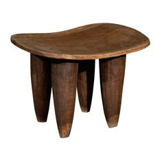 Antique African Stool | From a unique collection of antique and modern stools at http://www.1stdibs.com/furniture/seating/stools/