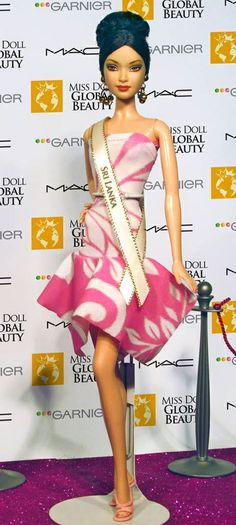 Miss Doll Global Beauty Pageant  Miss Sri Lanka    .  35 .25.2