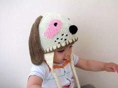 Knitting Baby Hat
